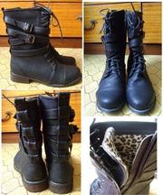 Продам стильные ботинки